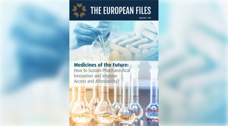 Medicines of the Future, How to sustain pharmaceutical innovation and improve access and affordability ?