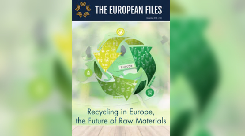 Recycling in Europe, the future of raw materials