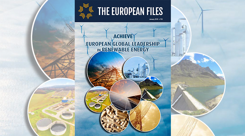 Achieve European Global Leadership In Renewable Energy