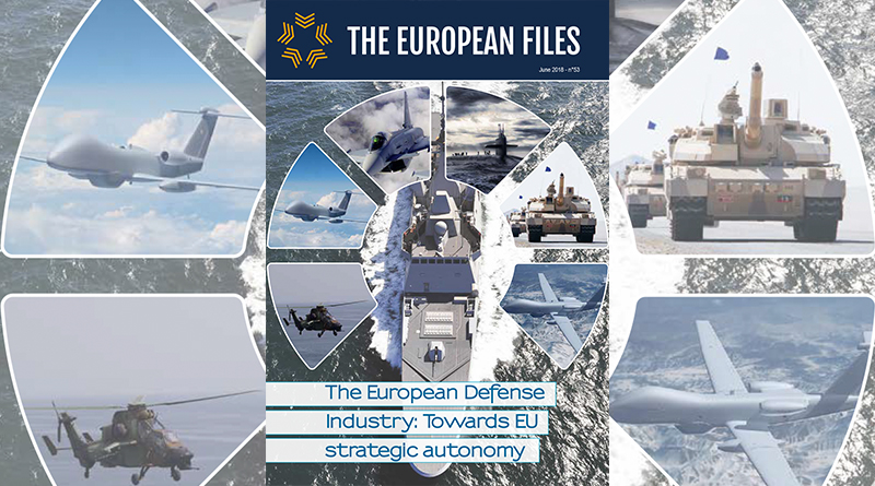 The European Defense Industry: Towards EU strategic autonomy