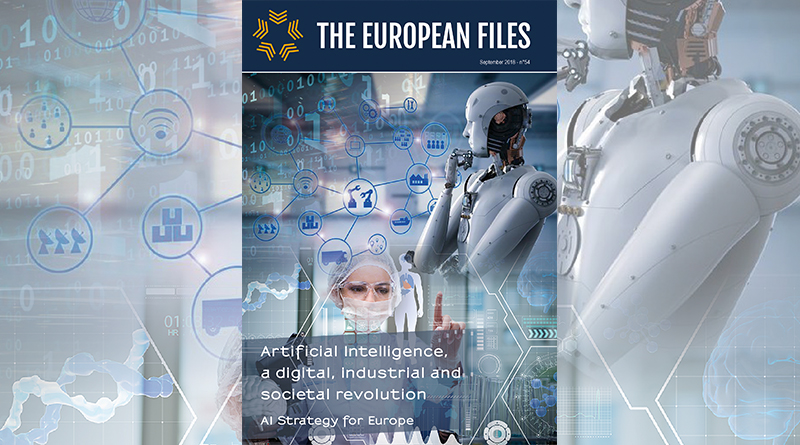 Artificial Intelligence, a digital, industrial and societal revolution. AI Strategy for Europe