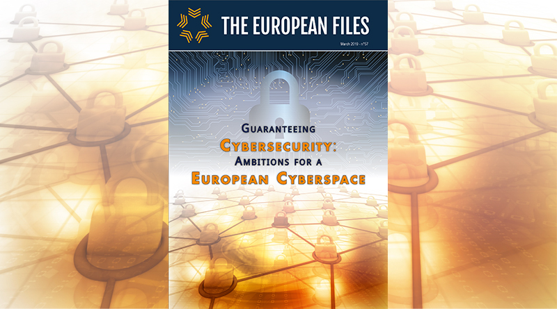 Guaranteeing  Cybersecurity: Ambitions for a  European Cyberspace